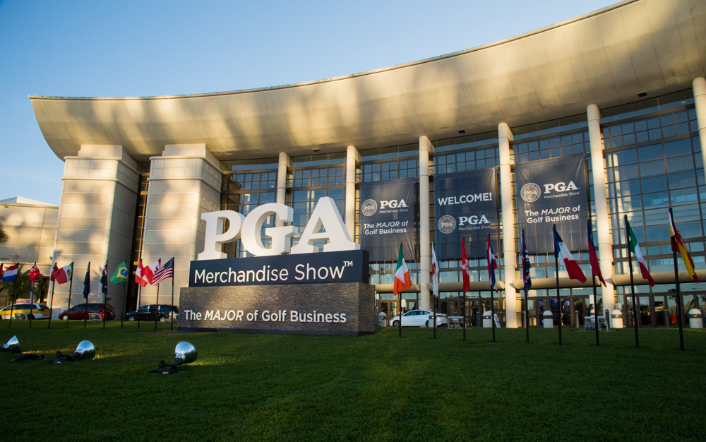 2019 pga merchandise show entrance at orange county convention center